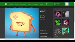 Xbox One Profile bald auf xbox.com aufrufbar