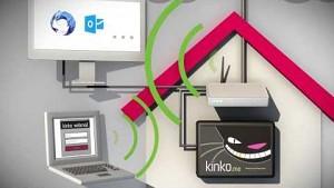 Kinko verschlüsselt E-Mails automatisch