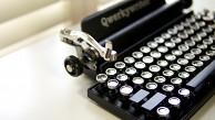 Qwerkywriter - die Oldtimer-Tastatur mit Bluetooth