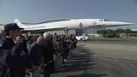 Die Concorde auf dem Weg ins Museum