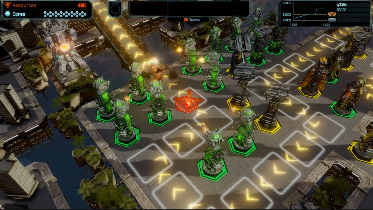 Defense Grid 2 - Beta-Gameplay