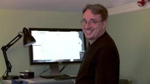 Das Homeoffice von Linus Torvalds
