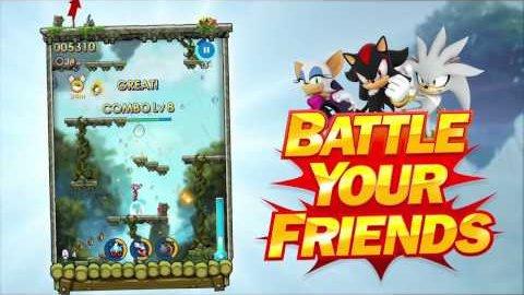 Sonic Jump Fever - Trailer (Launch)