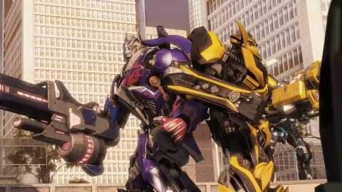 Transformers The Dark Spark - Trailer (Wii U)