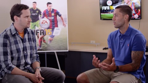 Fifa 15 - Interview (Clint Dempsey)