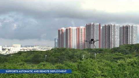 Dropsafe - ein Fallschirm für Drohnen