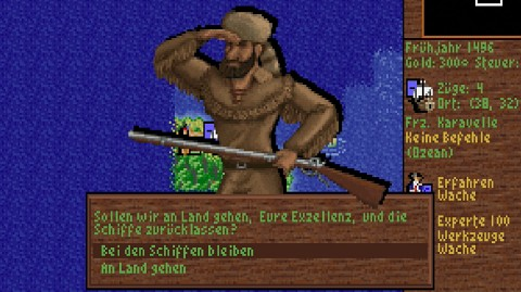 Sid Meier's Colonization (1994) - Golem retro_