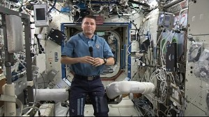 Astronaut Reid Wiseman im Interview