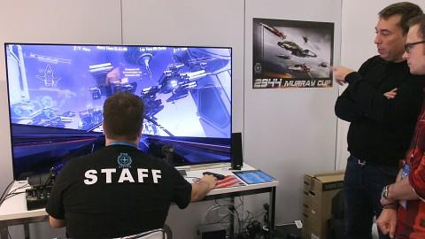 Star Citizen angesehen (Gamescom 2014)