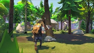 Fortnite auf der Gamescom 2014