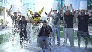 Playstation - Ice Bucket Challenge
