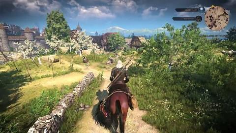 The Witcher 3 Angespielt Geralt Und Die Mission Bratpfanne Golemde