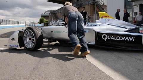 Formel-E-Testfahrten in Donington Park - Bericht