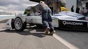 Formel E Testfahrten in Donington Park - Bericht
