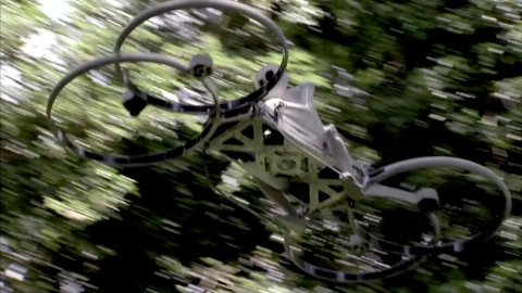 Hoverbike - eine Kreuzung aus Motorrad und Helikopter