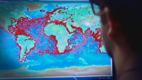 ISS - Tracking von Schiffen