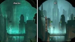 Bioshock für iOS - Grafikvergleich mit PC