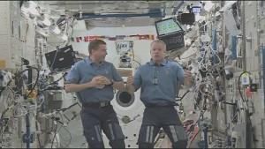 ISS-Astronauten im Interview