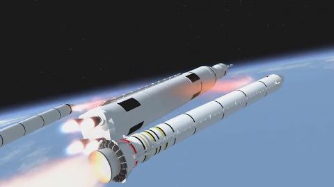 Meilenstein im Raketenstartsystem