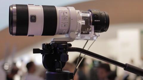 Sony Smartshot QX1 angesehen (Ifa 2014)