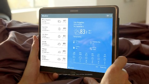 Samsung Galaxy Tab S - Spot