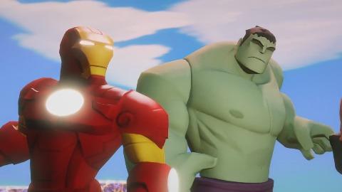 Disney Infinity 2.0 Marvel Super Heroes - Gameplay