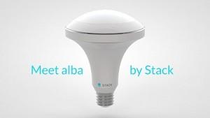 Stack Alba - LED-Leuchmittel mit Umgebungssensoren