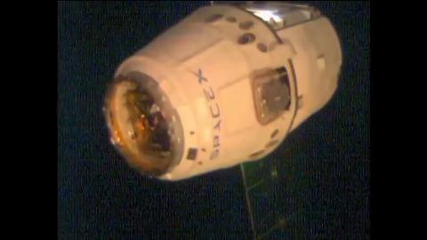 US Cargo Schiff erreicht ISS