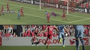 Fifa 15 PC und Xbox 360 - Grafikvergleich