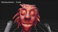 VR Clay - 3D-Sculpting mit Oculus Rift und Razer Hydra