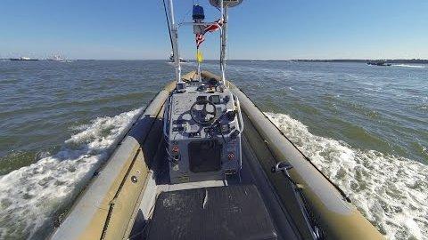 US-Marine testet Roboterboote