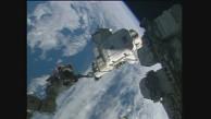 Weltraumspaziergang auf der ISS (Nasa)