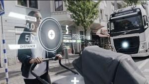 Assistenzsystem für LKW - Volvo