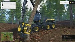 Landwirtschafts-Simulator 2015 (Holzarbeiten)