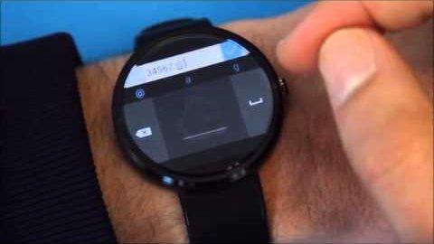 Microsofts Handschrifterkennung für Android Wear