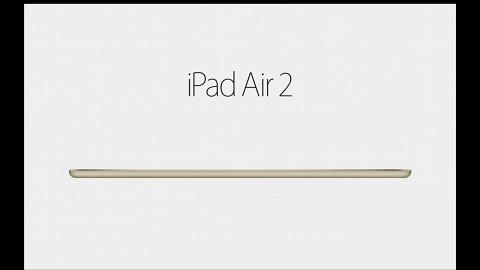 Apple stellt neues iPad Air 2 vor