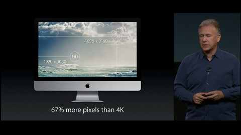 Apple zeigt iMac mit Retina-Display