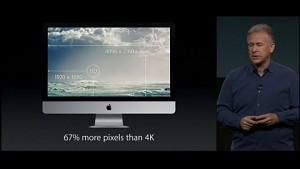 Apple zeigt iMac mit Retina-Display