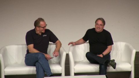 Linus Torvalds im Interview