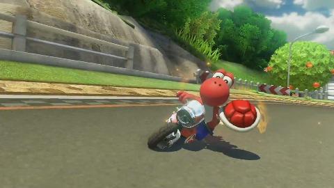 Mario Kart 8 - Trailer (DLC, Yoshi's Circuit)