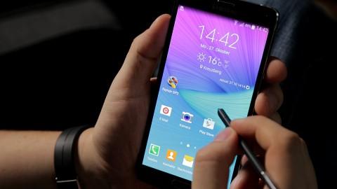 Samsung Galaxy Note 4 - Test