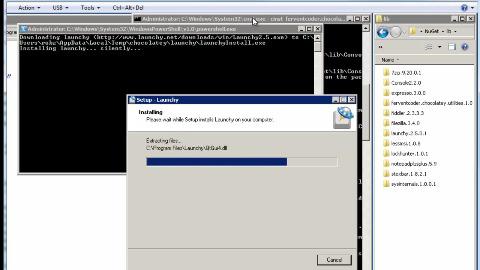 Paketmanager Chocolately für Windows