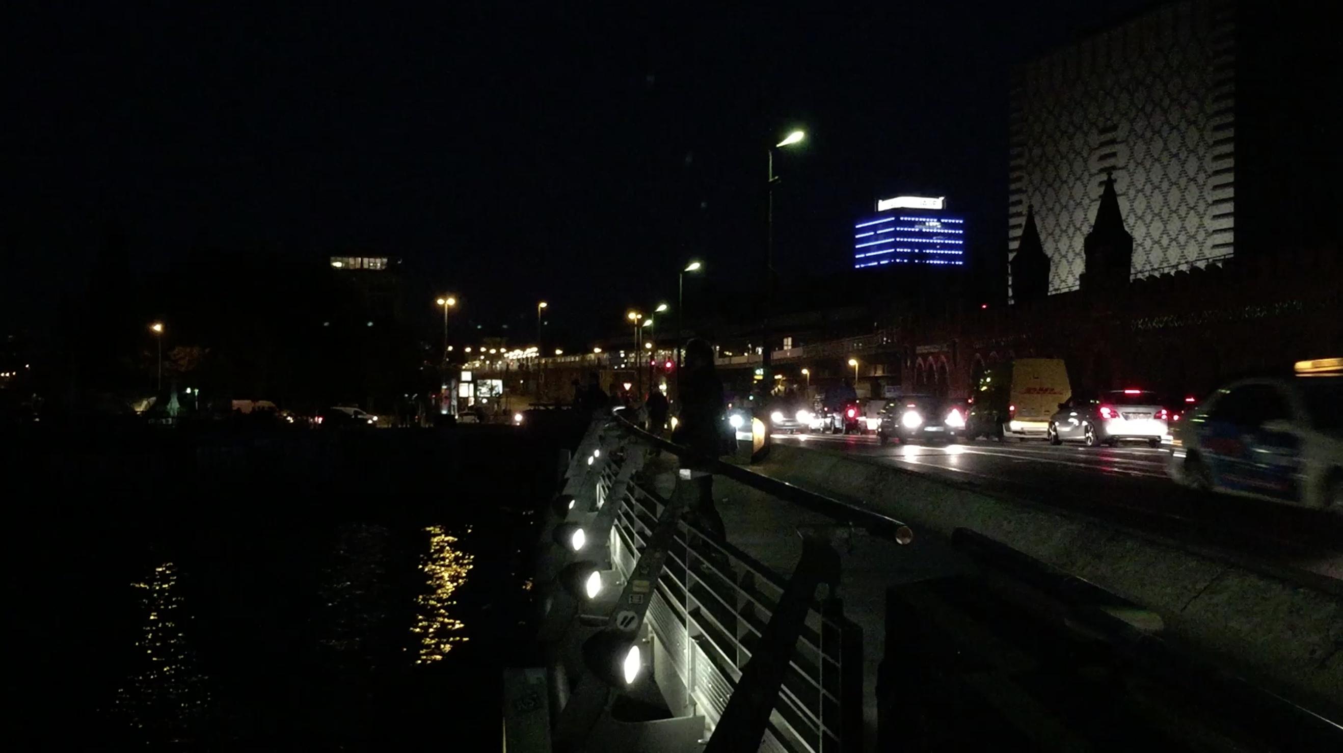 Testvideo iPhone 6 bei Nacht