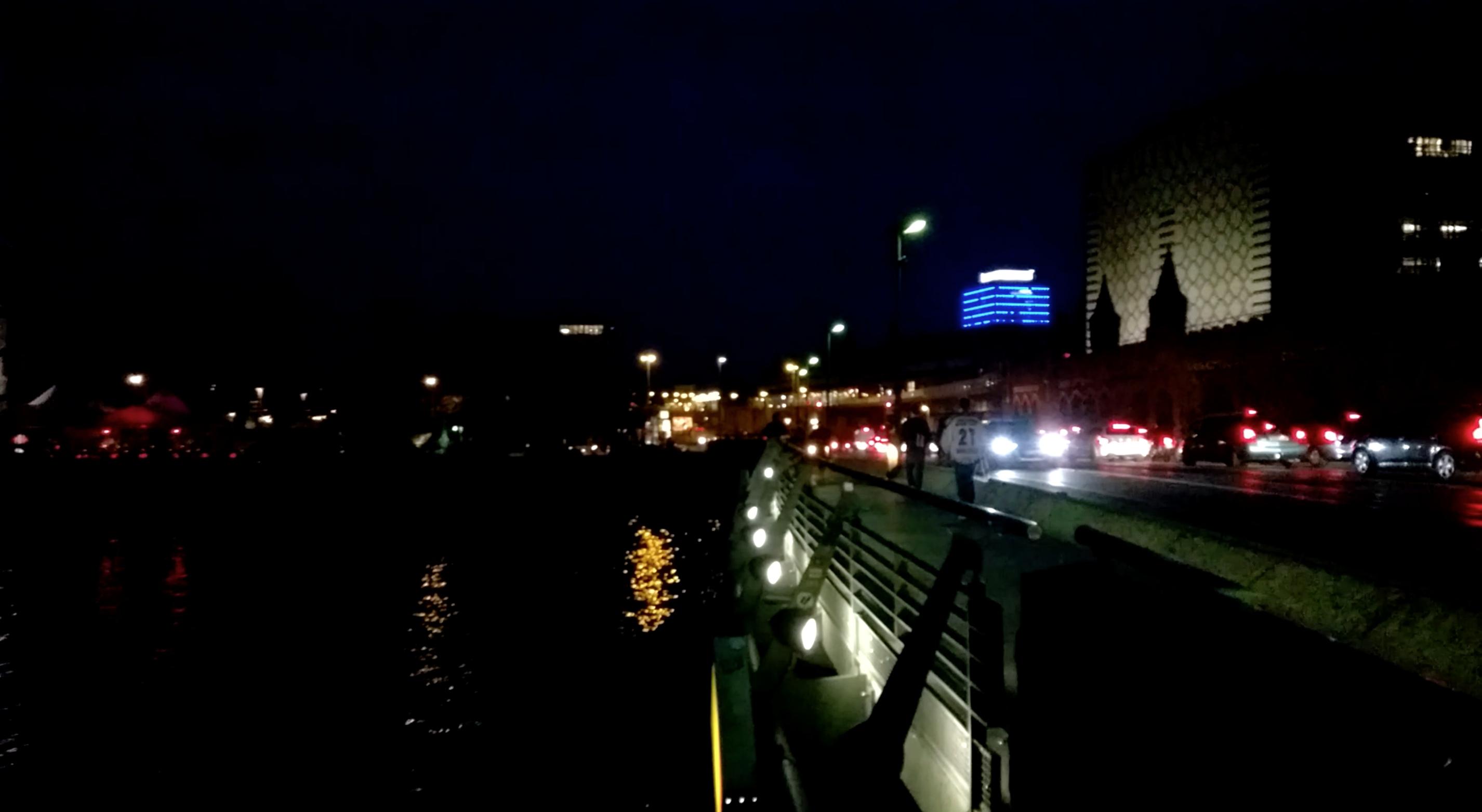 Testvideo Nokia Lumia 930 bei Nacht