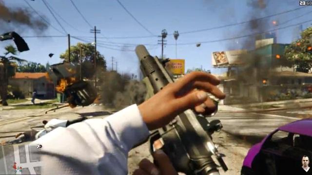 GTA 5 Next Gen - Trailer (First Person)