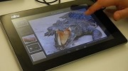 Fujitsu Haptic Display angeschaut