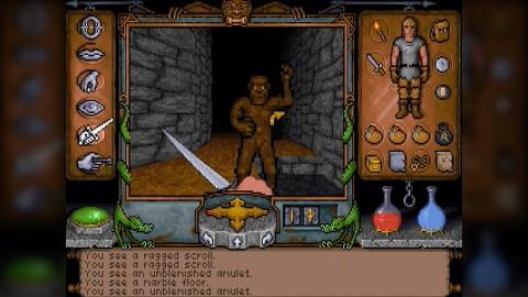 Ultima Underworld (1992) - Golem retro_