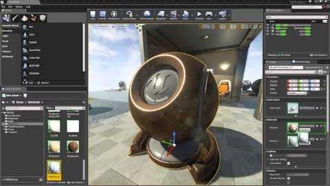 Materialien in der Unreal Engine 4 - How-to von Epic
