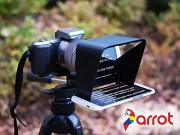 Parrot - Teleprompter für das Kameraobjektiv