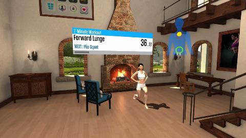 Runtastic Virtual Reality Workout für Oculus Rift